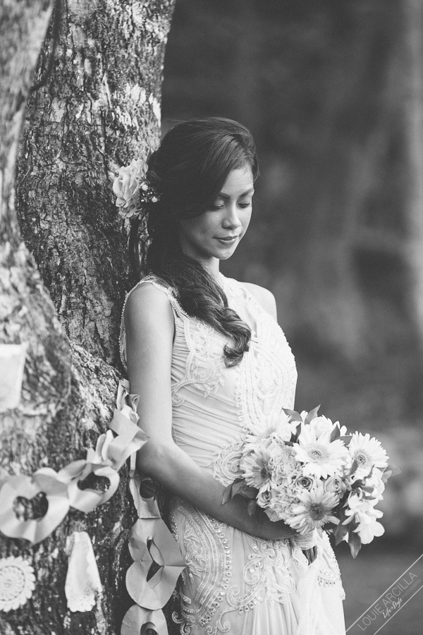 wedding editorial bridal portrait