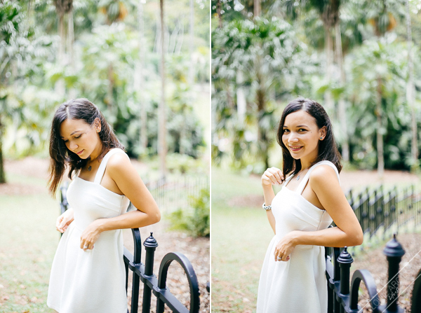 birthday portrait session outdoor singapore botanic gardens