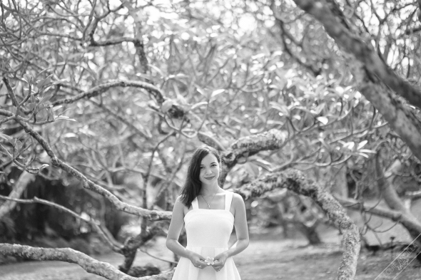 birthday portrait session outdoor singapore botanic gardens